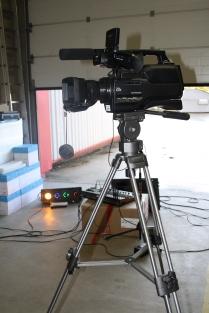 DSLR Camera and Tripod